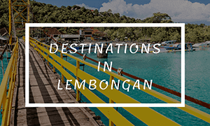 destination in lembongan
